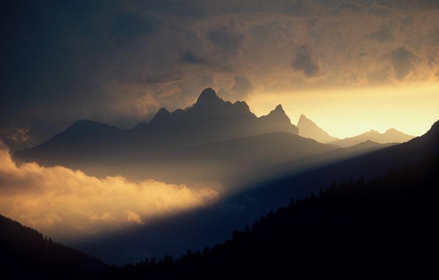 Das Naturschauspiel am Arlberg