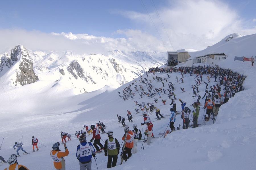 Das Weisser Rausch-Rennen am Arlberg