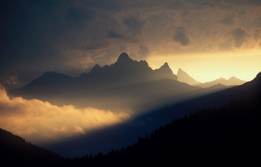 Nature spectacle on the Arlberg