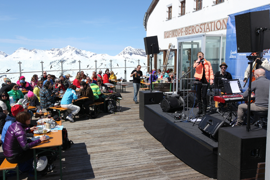 Concert at the Tanzcafé Arlberg