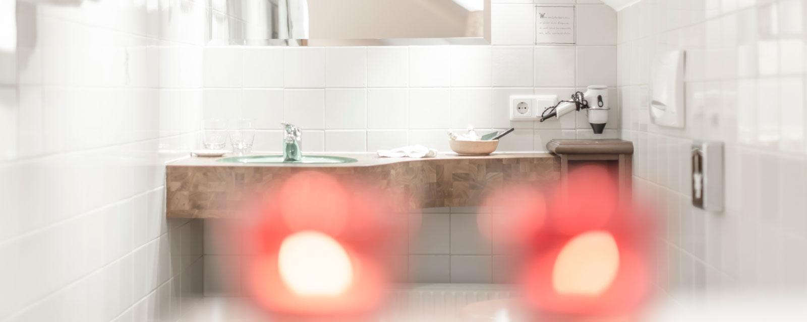 Badezimmer im Stefaniezimmer